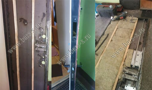 ремонт железной двери