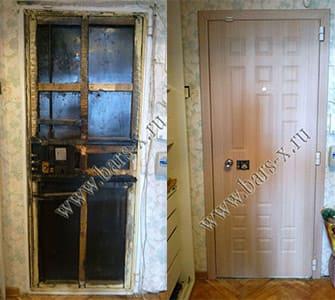 срочный ремонт железной двери после
