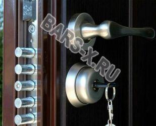 замена замка в металлической двери герда