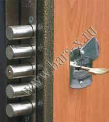 замена дверного замка эльбор мет двери
