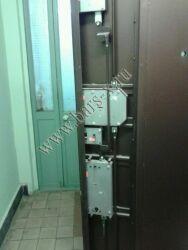 замена замков вкладного в железной двери с разбором через оферту