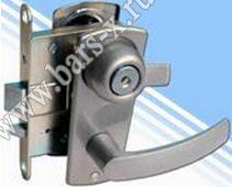 замена дискового замка отечественного на импортной в металлической двери
