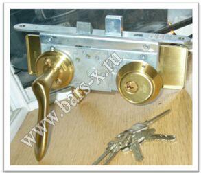 заменить дисковый замок личинку на входной двери