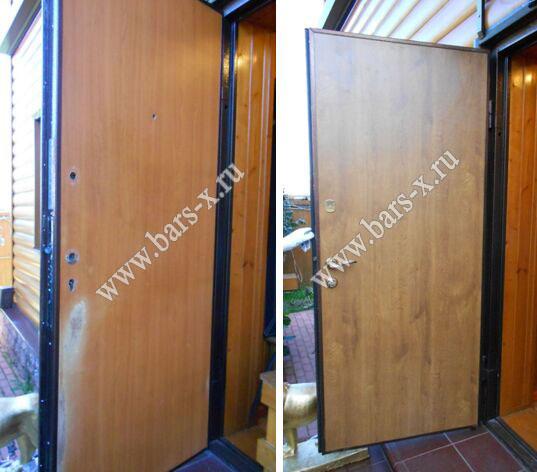нестандартные металлические двери в кашире