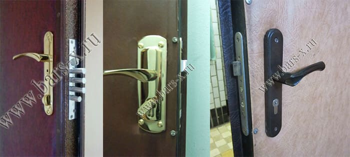 замена врезного сувальдного замка железная дверь