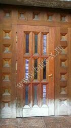 ремонт уличной железной двери до